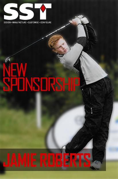 Jamie Roberts - Scottish Golf Sponsorship