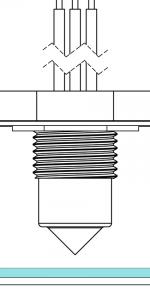 Leak sensing in an enclosure