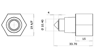 Optomax Industrial Range of Liquid Level Switches Drawing