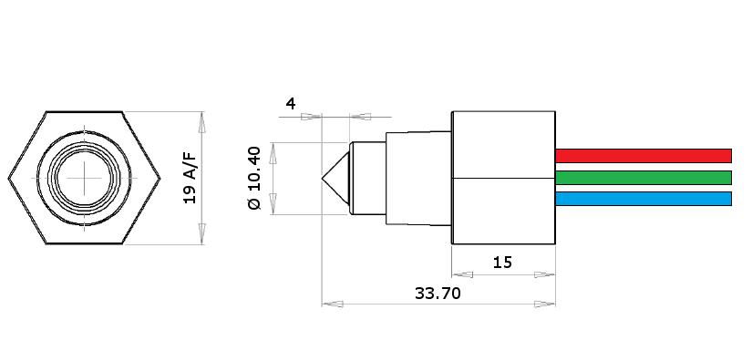 industrial liquid level switch