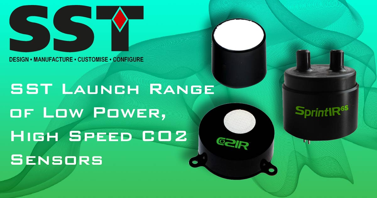 SST Launch Range of Low Power, High Speed CO2 Sensors